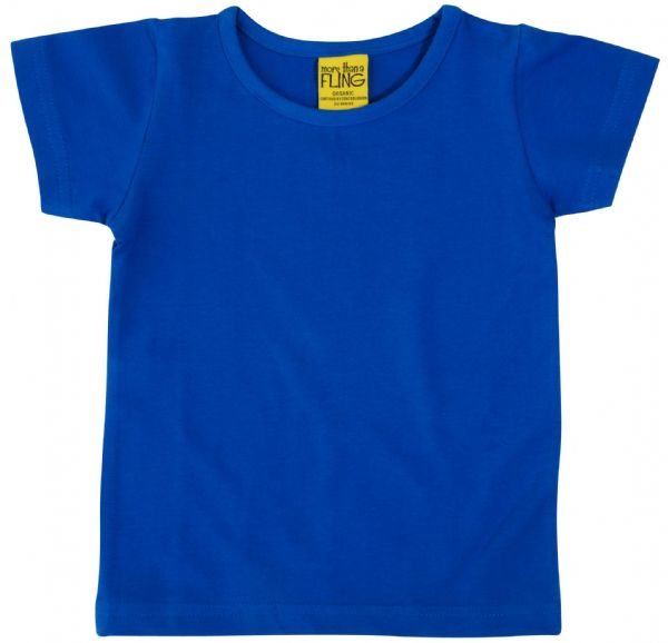 More Than a Fling MTAF Short Sleeve Top Blue